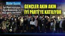 GENÇLER AKIN AKIN İYİ PARTİ'YE KATILIYOR